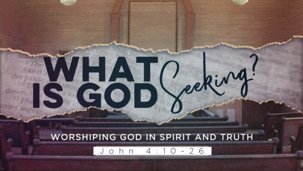 What is God Seeking Image